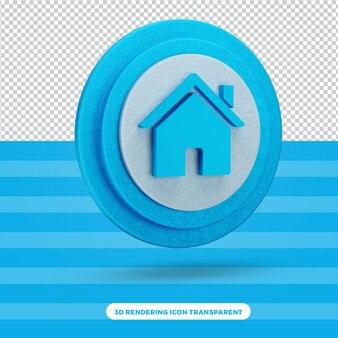 홈 고품질 3d 아이콘 렌더링
