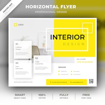 Horizontal interior flyer