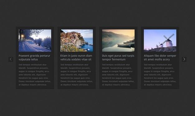 Горизонтальная карусель новостей html