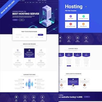 Hosting business web ui