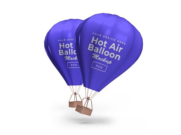 뜨거운 공기 풍선 이랑 절연