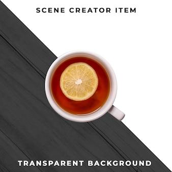 Hot drink mug transparent psd