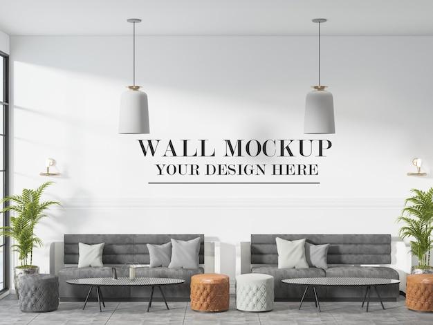 호텔 로비 또는 대기실 벽 모형