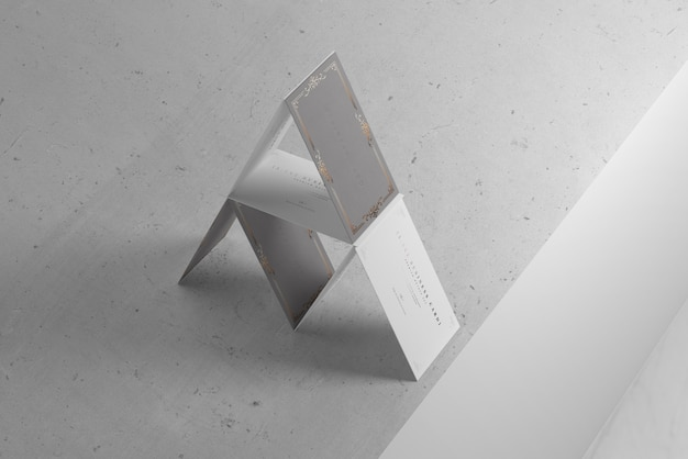 House of cards business card mockups