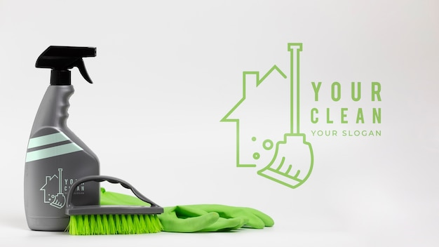 House cleaning products and equipment