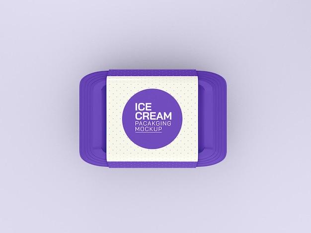 아이스크림 상자 모형