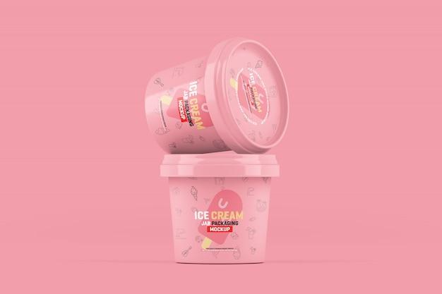 Jar упаковка для мороженого