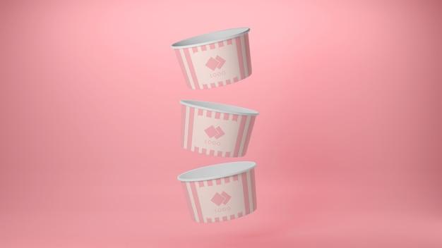 아이스크림 패키지 모형
