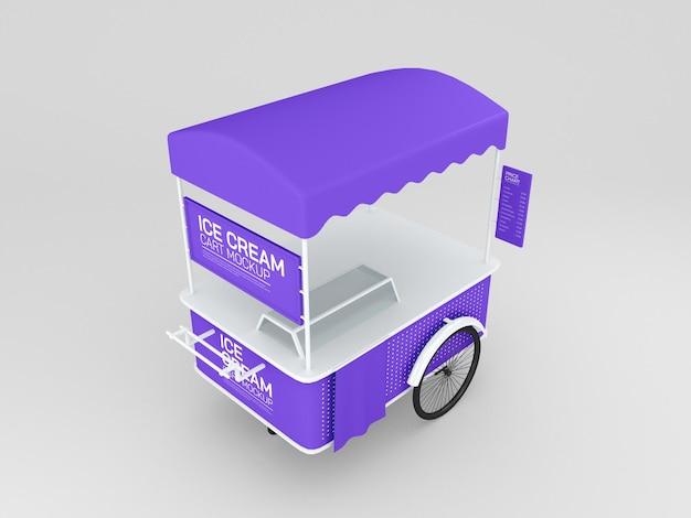 아이스크림 트롤리 카트 프로토 타입
