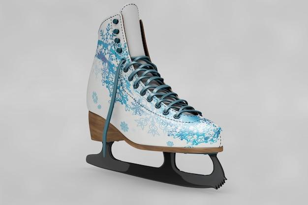 아이스 스케이트 신발 이랑