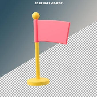 Icon 3d rendering