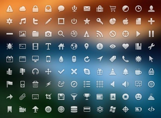 Icon icons monochrome