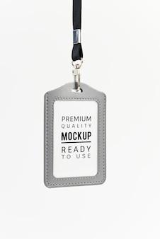 ID holder mockup