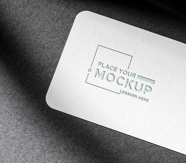 Identity business card mock-up