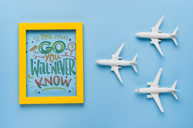 If you never go, you will never know, lettering about traveling