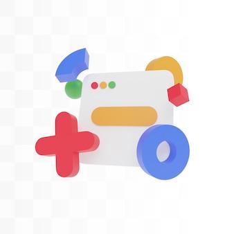 Иллюстрация концепции веб-дизайна