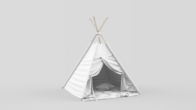 Indian tent or teepee for children