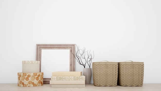 Indoor decorative objects for a minimalist style