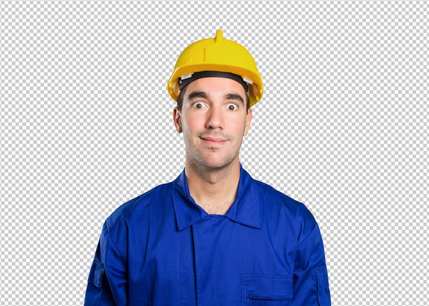 Industrial engineer building architecture job people