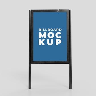 Information board mock up