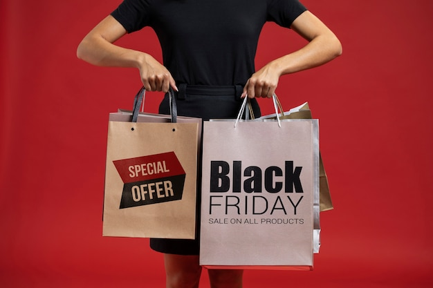 Informational campaign for black friday sale