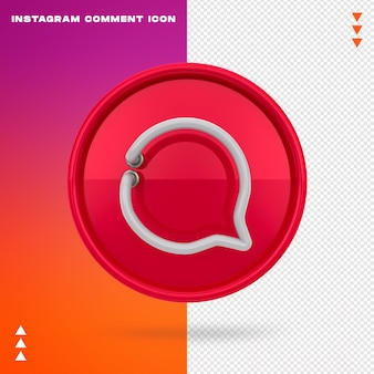 Instagram comment icon