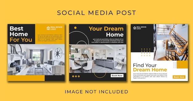 家のためのinstagramのポストミニマリストの家具