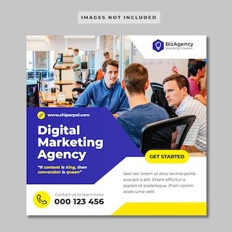 Цифровой бизнес маркетинг instagram post