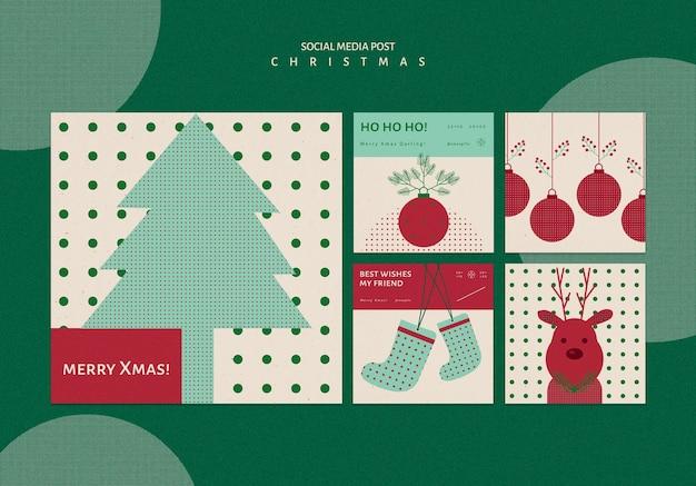 Instagramはクリスマスのコレクションを投稿します