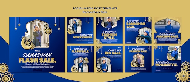 Instagram posts collection for ramadan sale