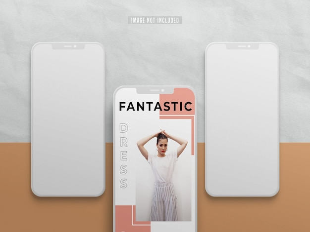Instagram social media post mockup