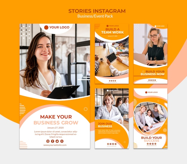 Storie di instagram per costruire un business
