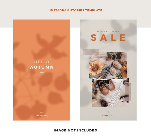 Instagram story sale template