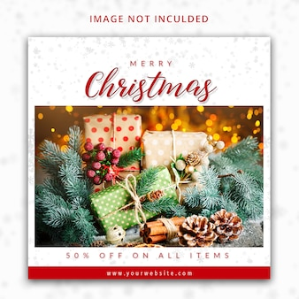 Счастливого рождества instagram шаблон сообщения