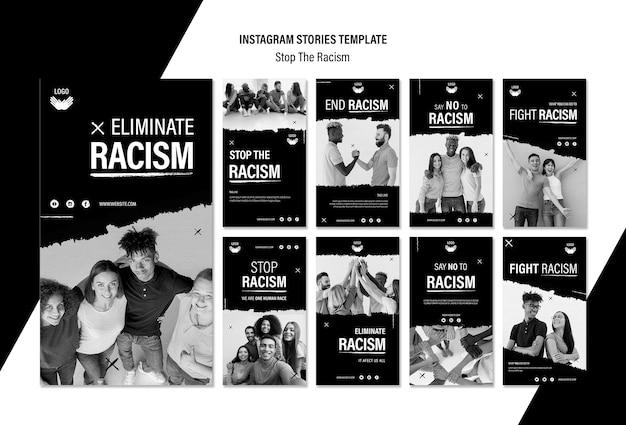 人種差別を停止するinstagramストーリーコレクション