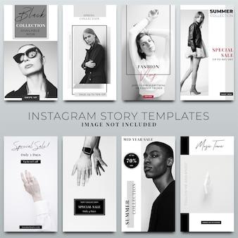 ソーシャルメディアテンプレートのinstagramストーリーコレクション