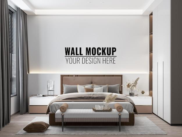 Макет стены спальни