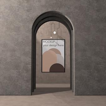 Interior design con arch