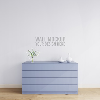 Interior sideboard decoration wall