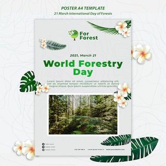 국제 숲 포스터의 날