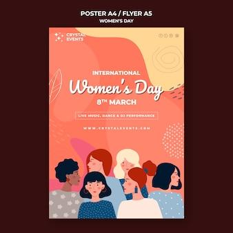 Volantino per la giornata internazionale delle donne