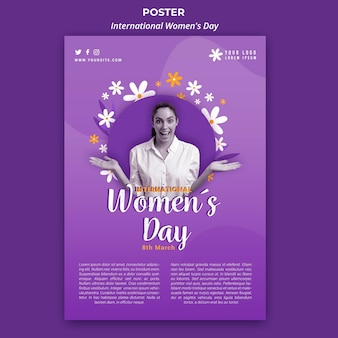 Международный женский день плакат