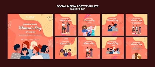 International women day social media post