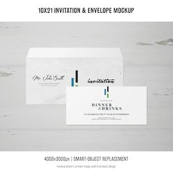 초대장 및 봉투 이랑