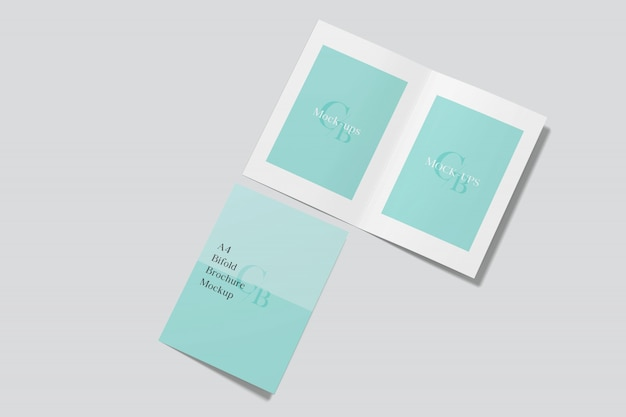 Invitation cards mockup