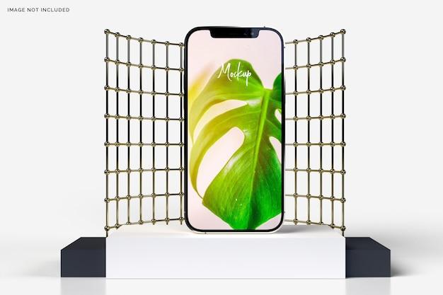 현실적인 아이폰 12 모형 3d
