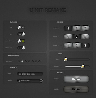 Iphone uikits remake di luce