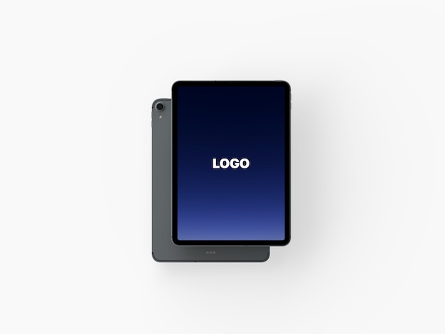 モダンなiphone xとmacbook proのモックアップ