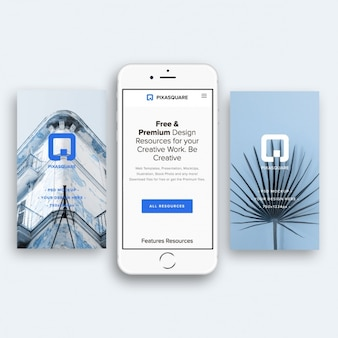 Дизайн макета iphone