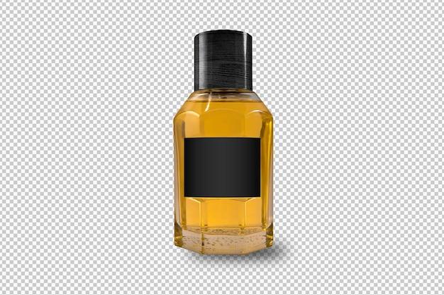 Bottiglia isolata per fragranza